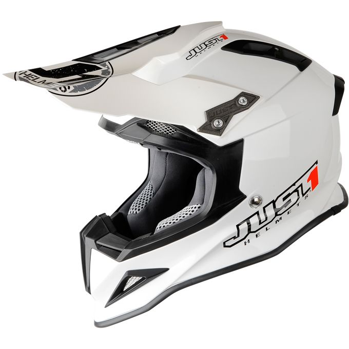 2013 Just 1 J12 Motocross Helmet - White - Just 1 Motocross Helmets - Motocross Helmets - Motocross Kit - by Just 1 Helmets -