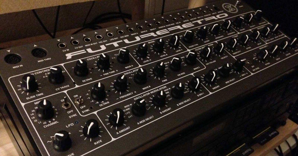 Future Retro Xs Analog Monophonic Synthesizer Synthesizer Analog Retro