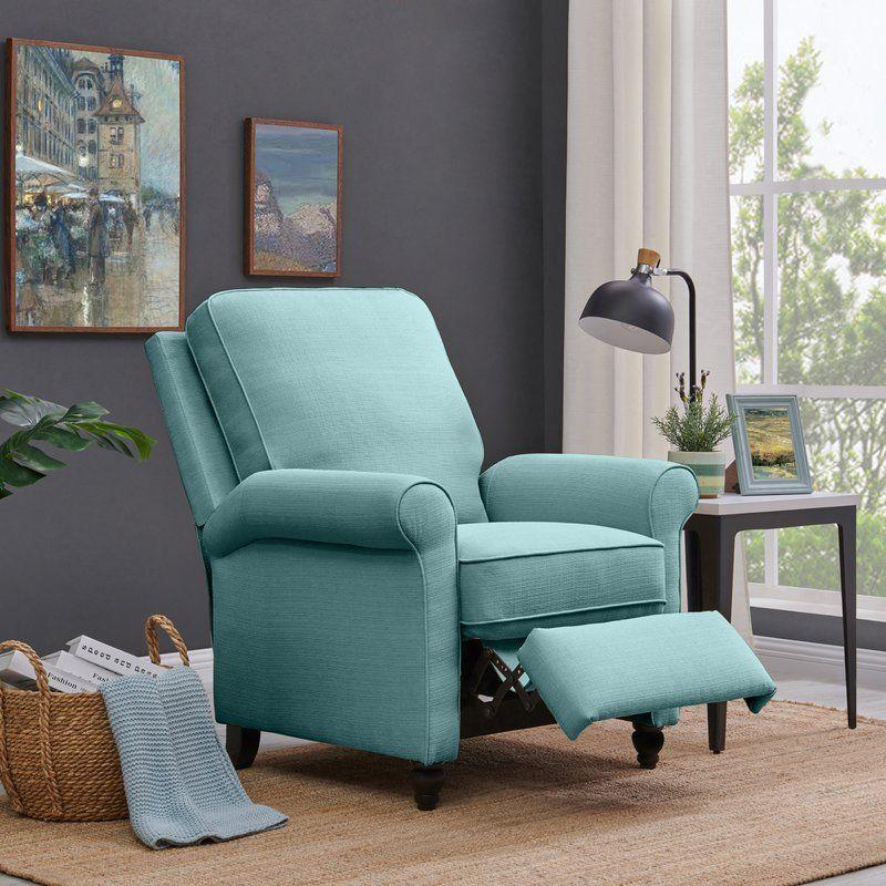 Leni Manual Recliner Recliner Living Room Sets Furniture Small Recliners