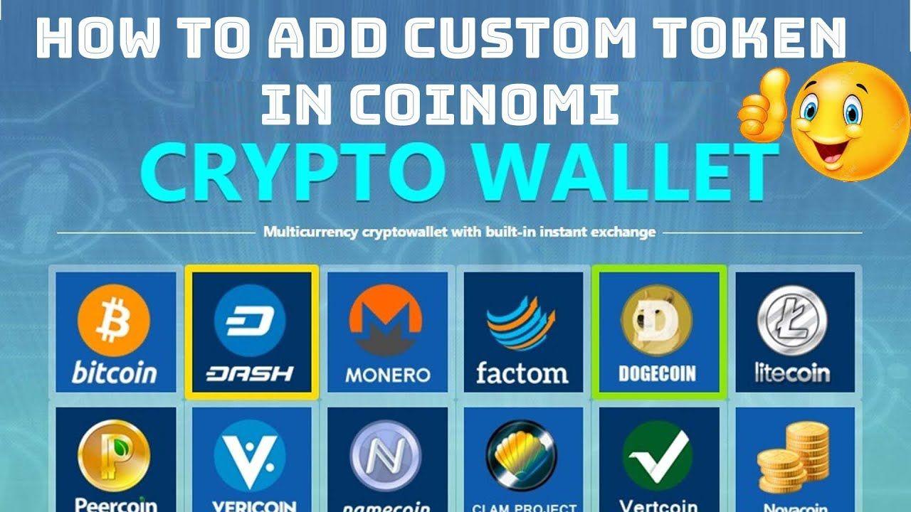 How To Add Custom Token In Coinomi Best Cryptocurrency Wallets Best Cryptocurrency Cryptocurrency Custom