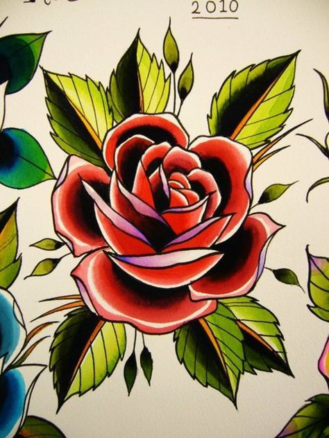Photo of Best Tattoo Traditional American Old School Red Ideas
