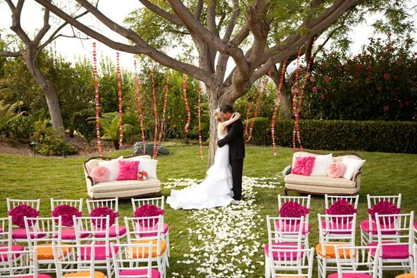 Outdoor ceremony decor/design