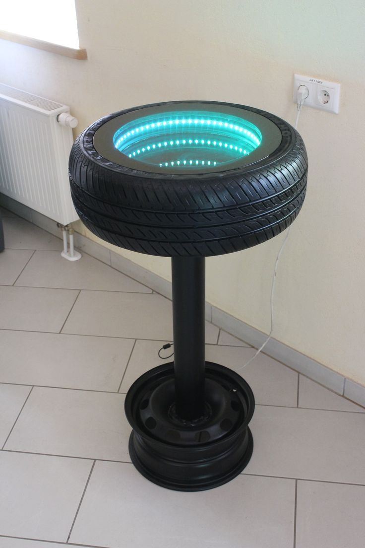Creative use of a tire shared by for Unique diy furniture