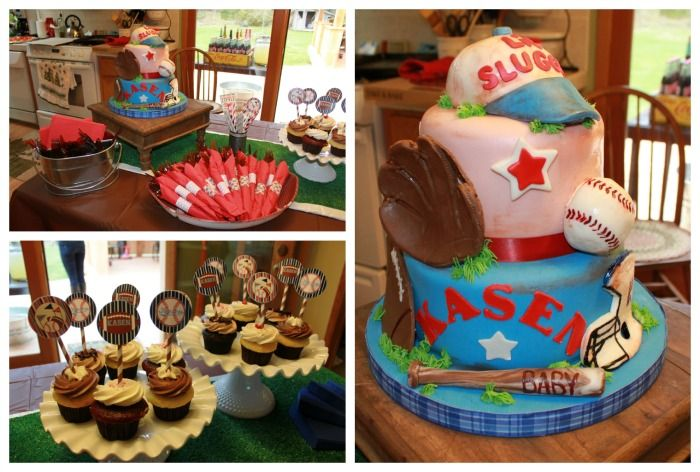 Sports Baby Shower Decorations For Boys | Sports Baby Shower Cake And  Desserts   Dimple Prints