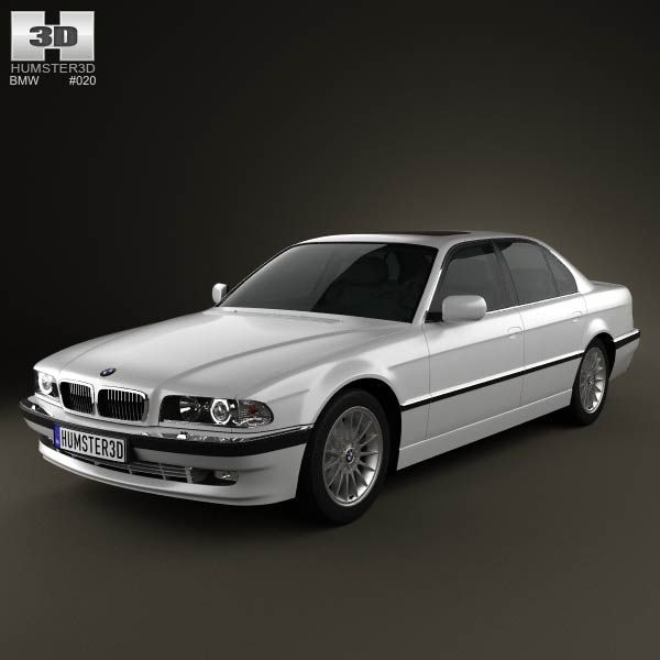 BMW 7 Series E38 1998 3d Model From Humster3d.com. Price: $75