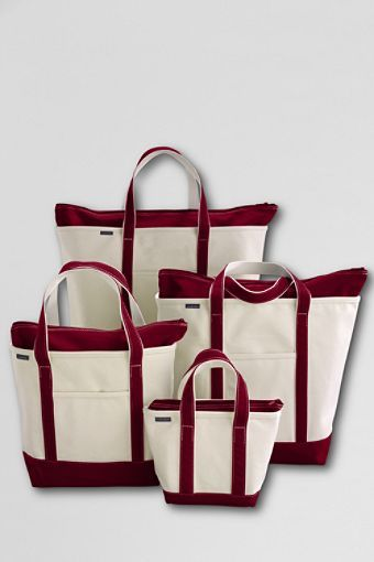 These simple timeless totes are perfect for anything you need to carry!