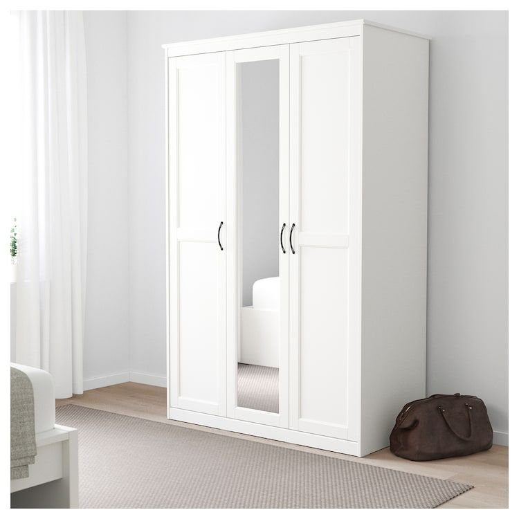 Songesand Wardrobe White Furniture In 2019 Bedroom