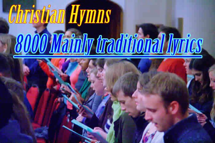 A collection of 8000+ Christian Hymn and Gospel Song lyrics with downloadable PDF for printing.