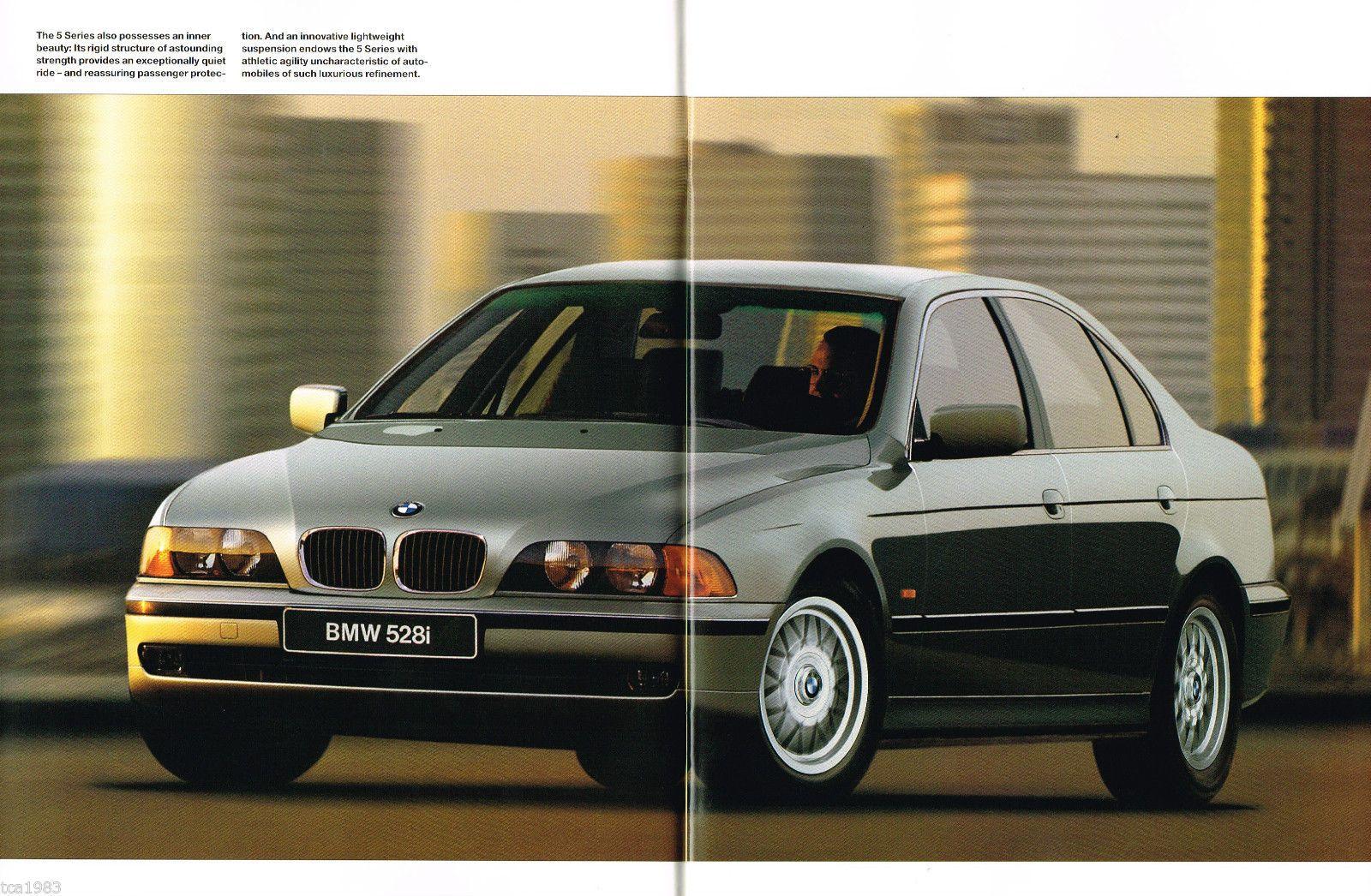 Details About Lrg 1997 Bmw 5 Series Sedans Brochure Catalog 528i