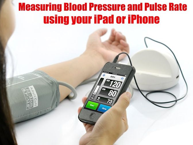 Blood Pressure Monitor System for iPhone, iPod Touch, iPad =====>
