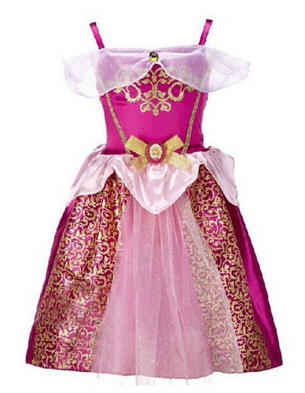Rapunzel Little Princess Gown Fancy Dress Kids Halloween Costume ... d19dc60a5934