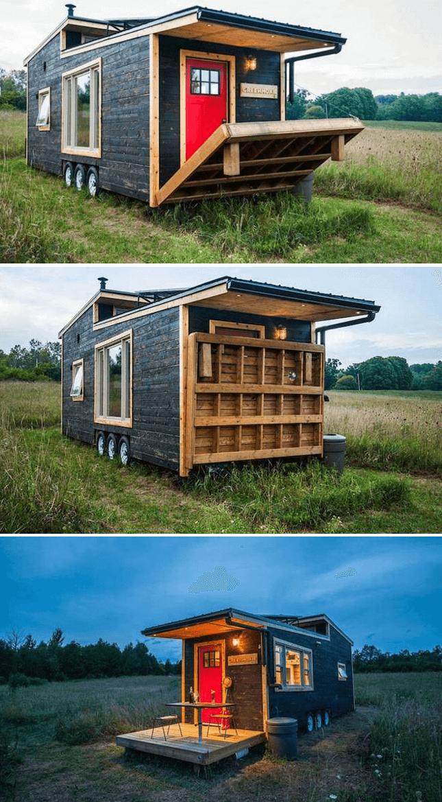 Photo of DRAWBRIDGE TINY HOUSE PORCH DESIGN IDEAS