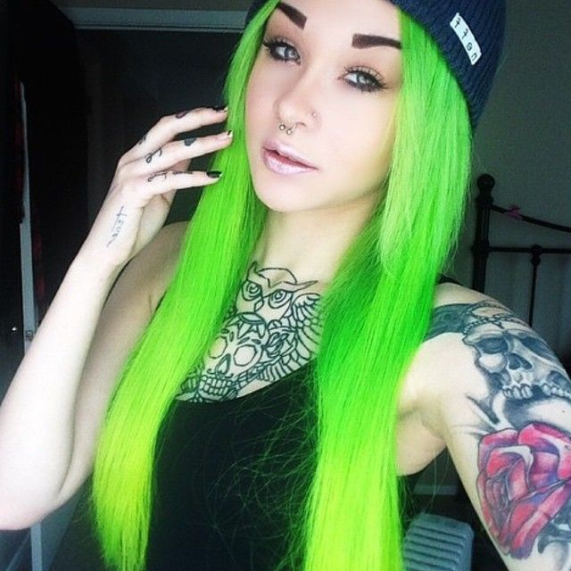 Pravana S Neon Green