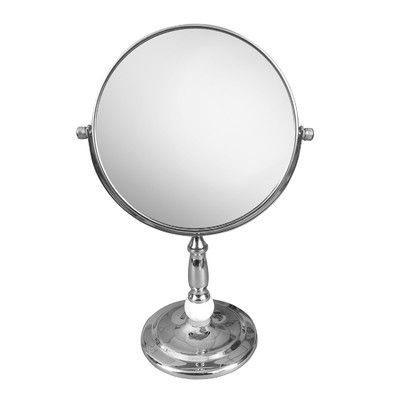 Fresh Elegant Home Fashions Freestanding Magnifying Makeup Mirror Contemporary - New magnifying makeup mirror Contemporary