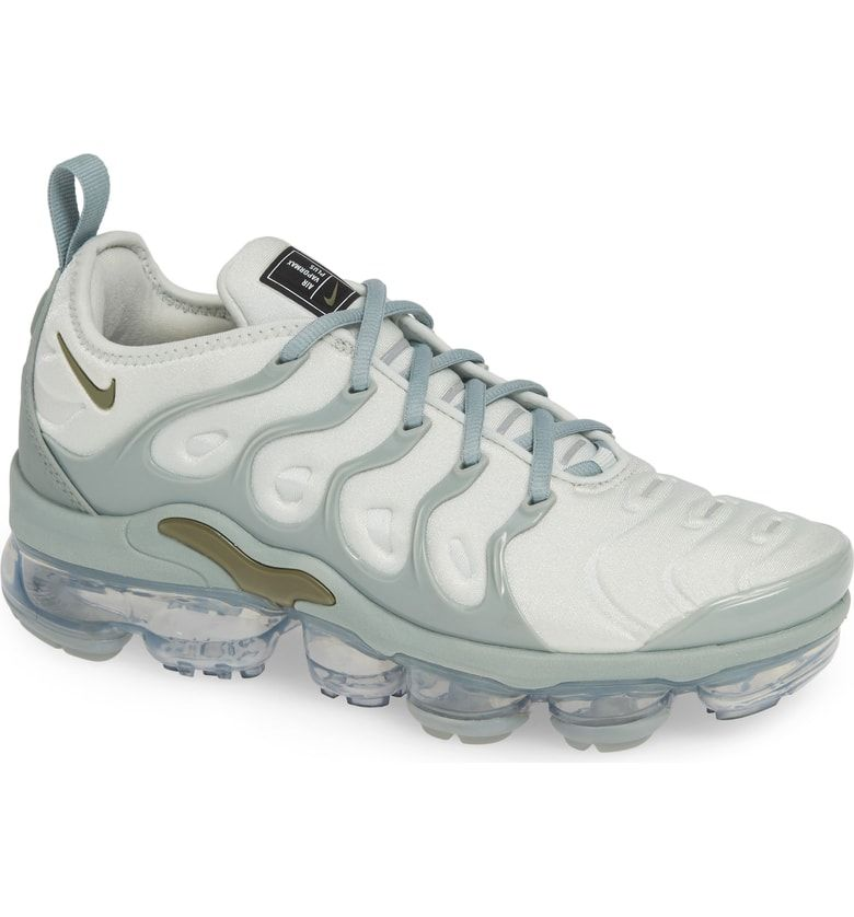 b7ab303ed22 Free shipping and returns on Nike Air VaporMax Plus Sneaker (Women) at  Nordstrom.com.  p A molded stretch-knit upper fuses with a translucent air-pod  sole ...