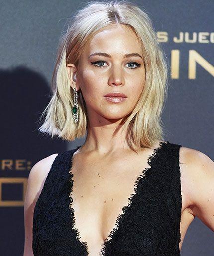 Oops Jennifer Lawrence Trips Again Jennifer Lawrence Hair Hair Beauty Hair Styles