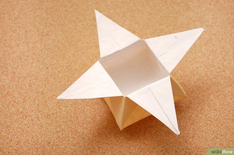 Eine Origami Sternschachtel Machen Diy Origami Star Box