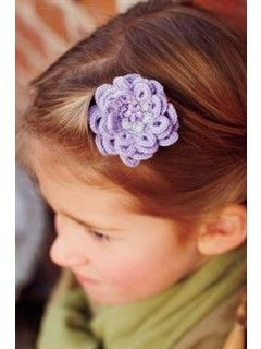 Need some stocking stuffers? Why not crochet some Blossom Hair Clips for that special little lady in your life!