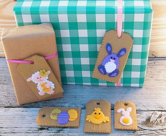 Diy easter gift tags your easter presents will look extra festive diy easter gift tags your easter presents will look extra festive this year with these homemade easter tags the front is decorated with several l negle Choice Image