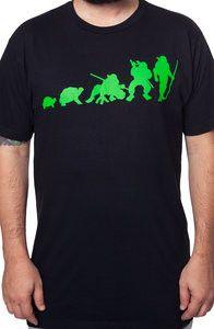f5234f8d2 Turtle Evolution Shirt Cartoon T Shirts, Teenage Mutant Ninja Turtles, Tmnt  Turtles, Evolution