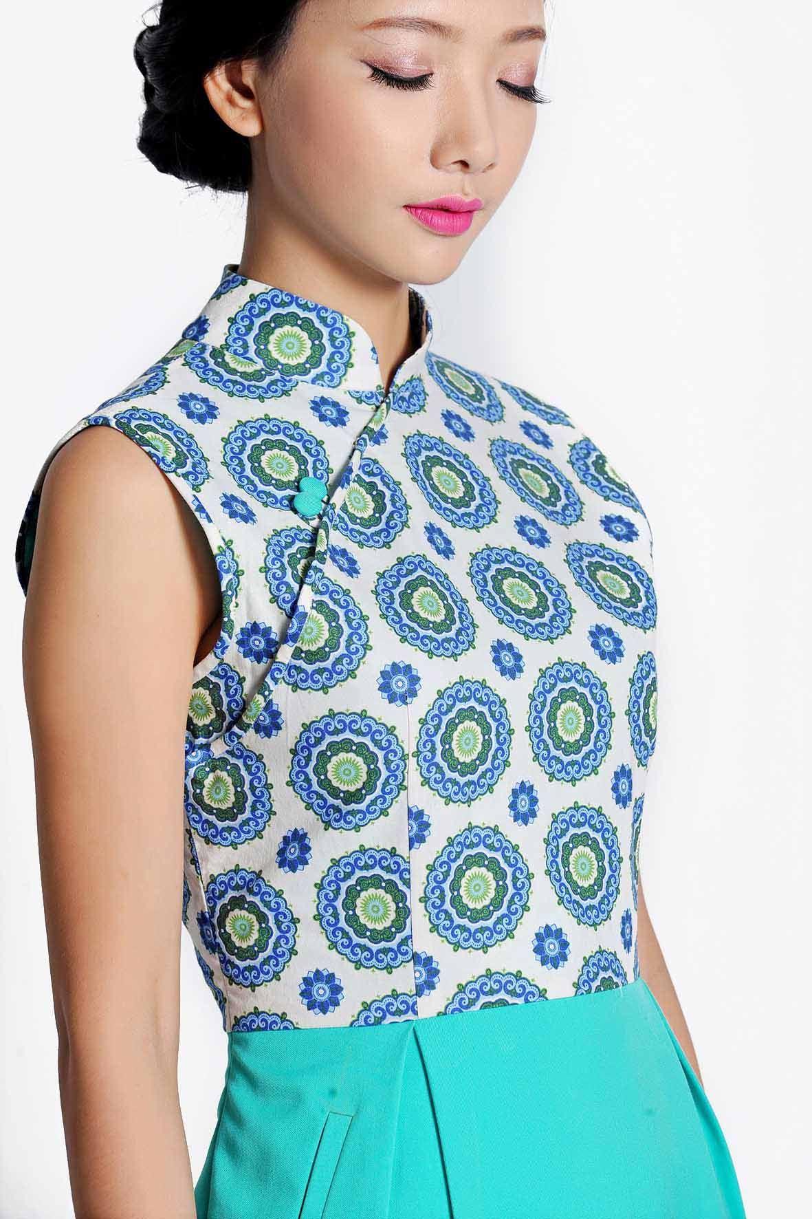 Modern cheongsam online shop Singapore Vestidos