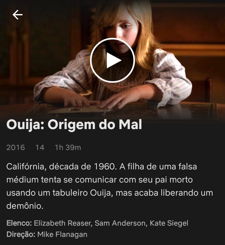 Filme Ouija A Origem Do Mal Mike Flanagan Sugestoes De Filmes Netflix Indicacao De Filmes Netflix Dicas De Filmes Netflix