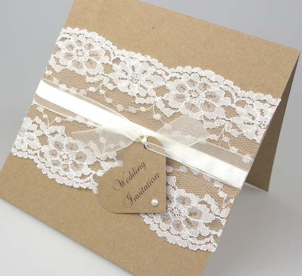 17 Best images about Wedding invitation cards – Lace for Wedding Invitations