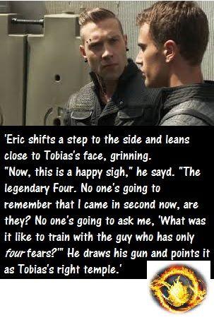 ~Divergent~ Eric...jealous much?? | Fandom | Pinterest ...