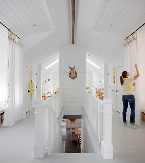 A Tybee Island Beach House Remodel Bedroom Attic Design Sleeping Loft