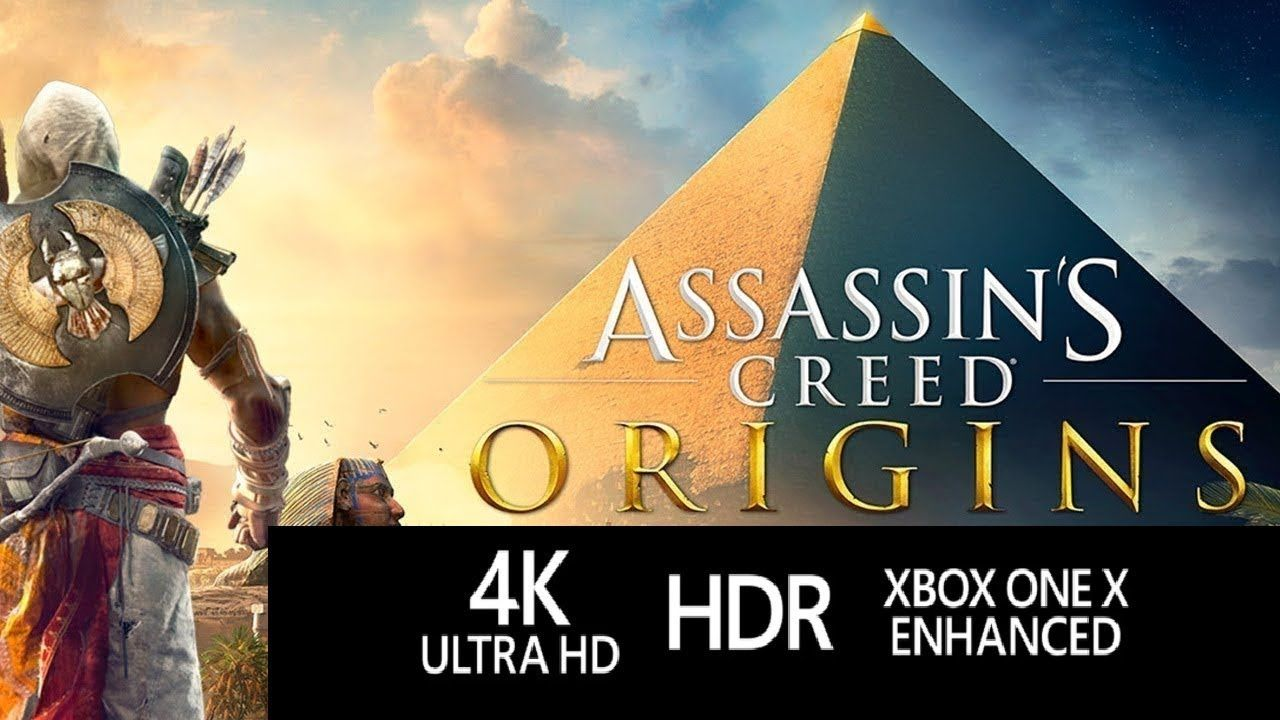 Xbox One X Runs Ac Origins In Full 4k Game Looks Amazing