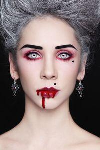 Vampir Kostum Selber Machen Vampire Halloween Makeup Halloween