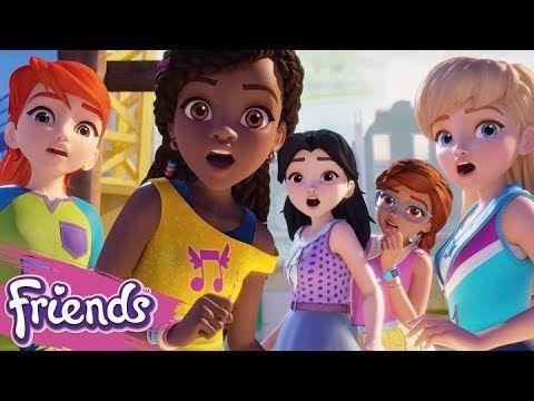 New 2018 Mini Movie From Lego Friends Meet Andrea Mia Emma