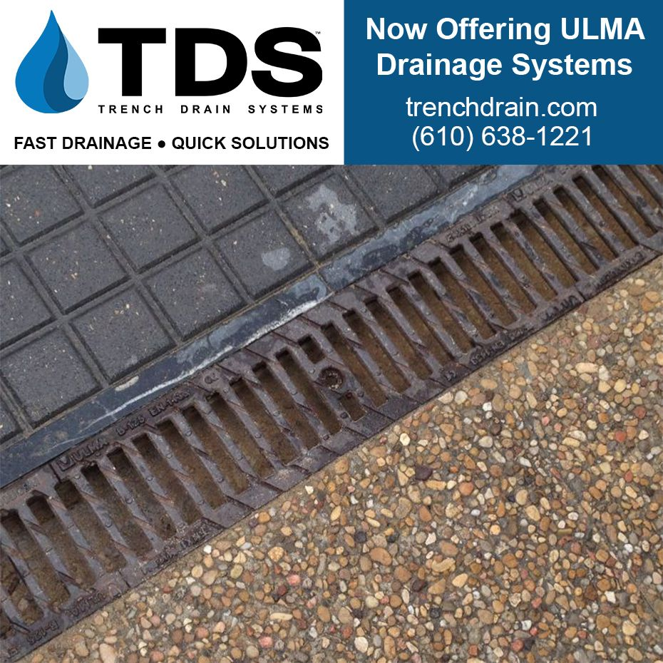 Blog Tds Begins Distribution Of Ulma Drainage Systems Trench Drain Systems Trench Drain Drainage Channel