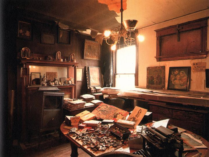 Henry Darger S Home Chicago Ca 1970s By Nathan Lerner
