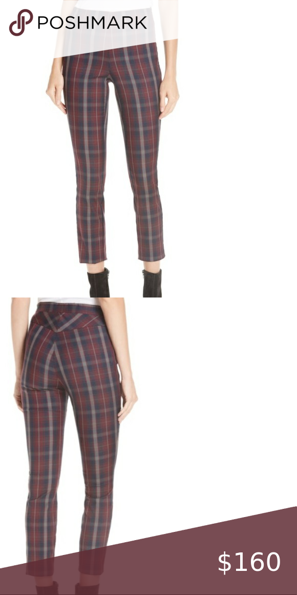 Rag Bone Simone Plaid Yoke Pants Size 6 Nwt 295 New With Tags Women S Size 6 Measurements Waist 13 5 Across In 2020 Menswear Inspired Clothes Design Plaid