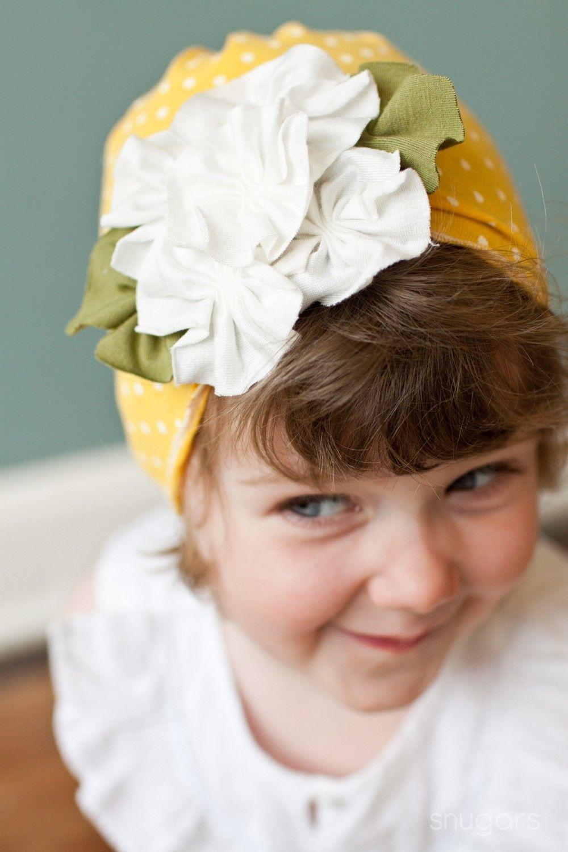 ed6bf3464975 Rain Drops and Roses PolKA dOt Snugars hat cap beanie infant toddler ...
