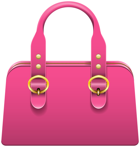 Handbag Pink Png Clip Art Handbag Bags Clip Art