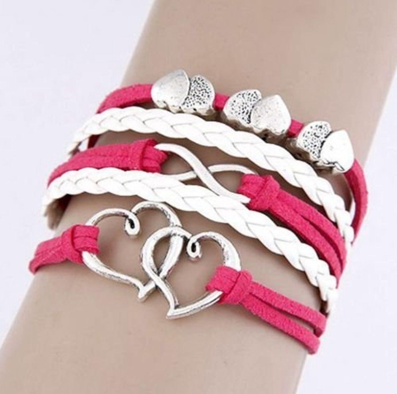 Nally fashion leather multilayer bracelet by nally fashion