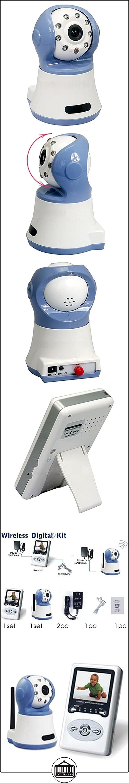 Vococal - 2.4GHz 300 Mil Píxeles Cámara Bebé Seguridad de Visión Nocturna Infrarroja Inalámbrica / Cámara de Monitor Infantil Video Cuidado del Bebé con pantalla de 2,4 Pulgadas TFT LCD,Enchufe de UE  ✿ Vigilabebés - Seguridad ✿ ▬► Ver oferta: http://comprar.io/goto/B01C8CWSNE