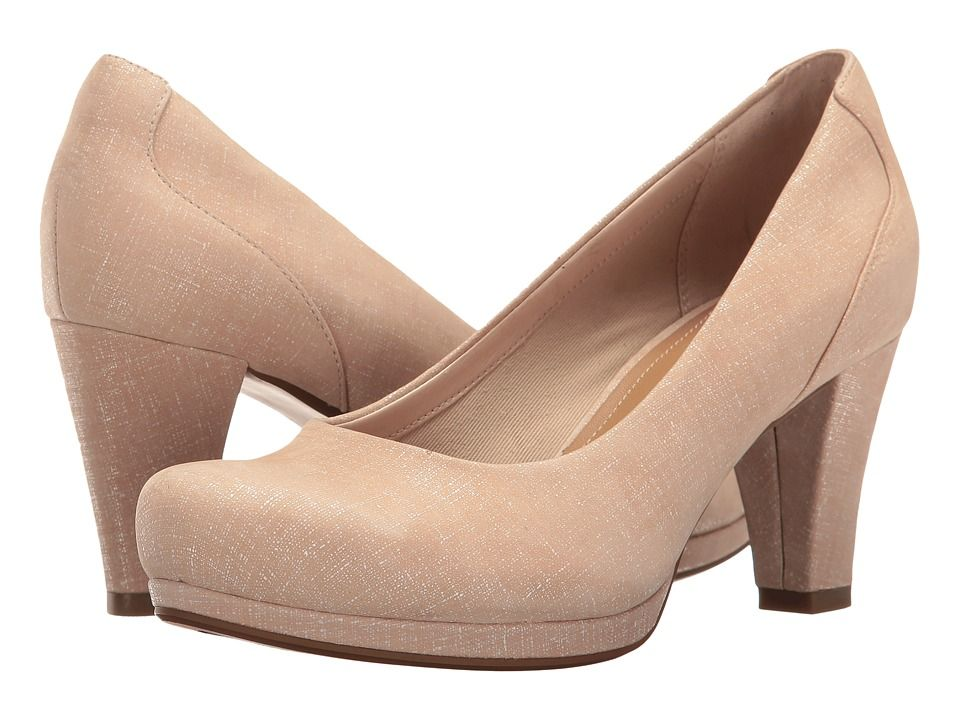 f10814746db CLARKS CLARKS - CHORUS CHIC (NUDE INTEREST) WOMEN S SHOES.  clarks  shoes