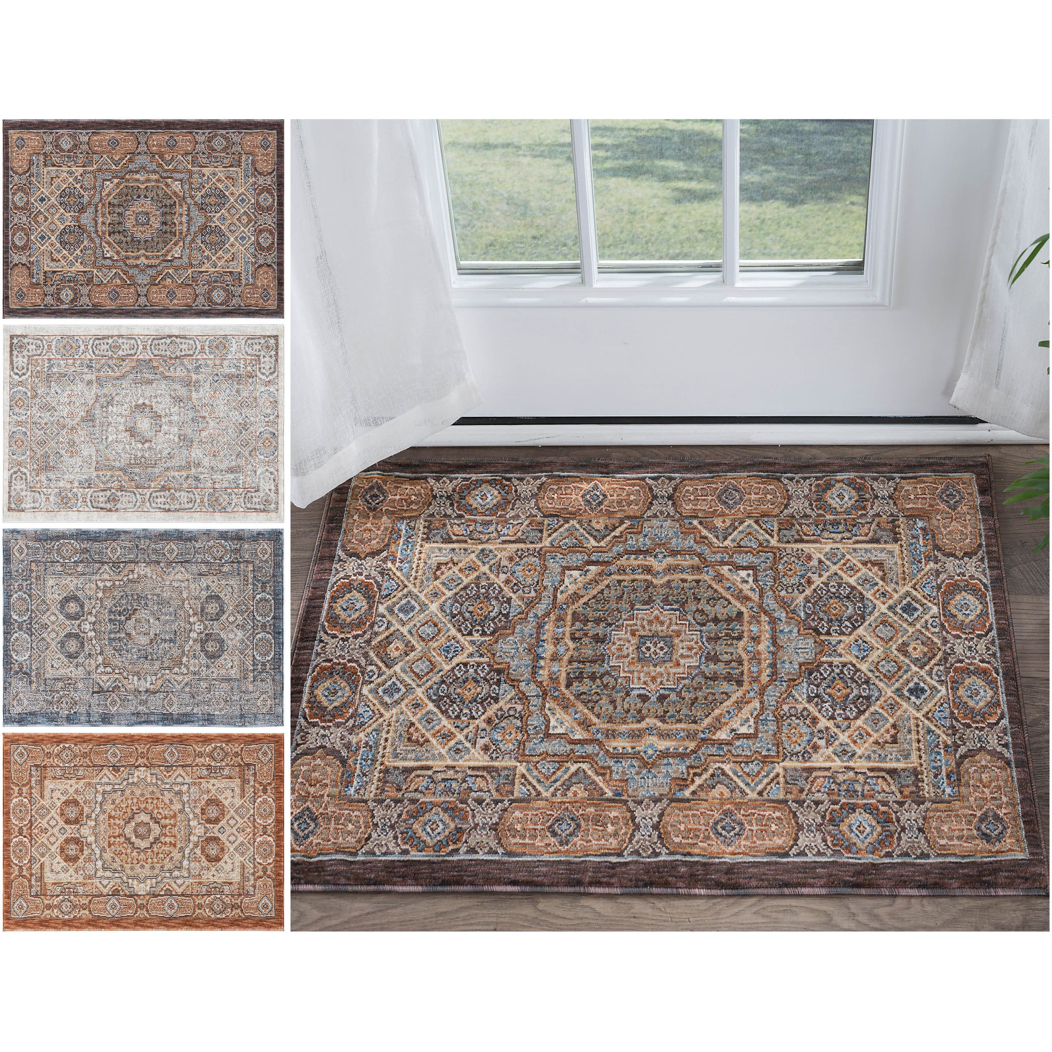 Tayse Rugs Fairfax Traditional Multi Scatter Rug