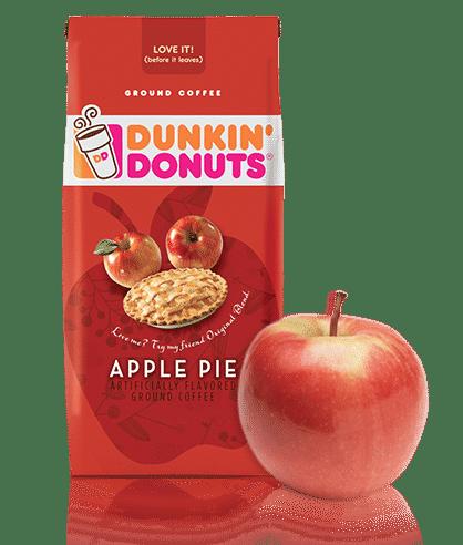 Dunkin' Donuts Apple Pie Coffee 0 Points Dunkin donuts