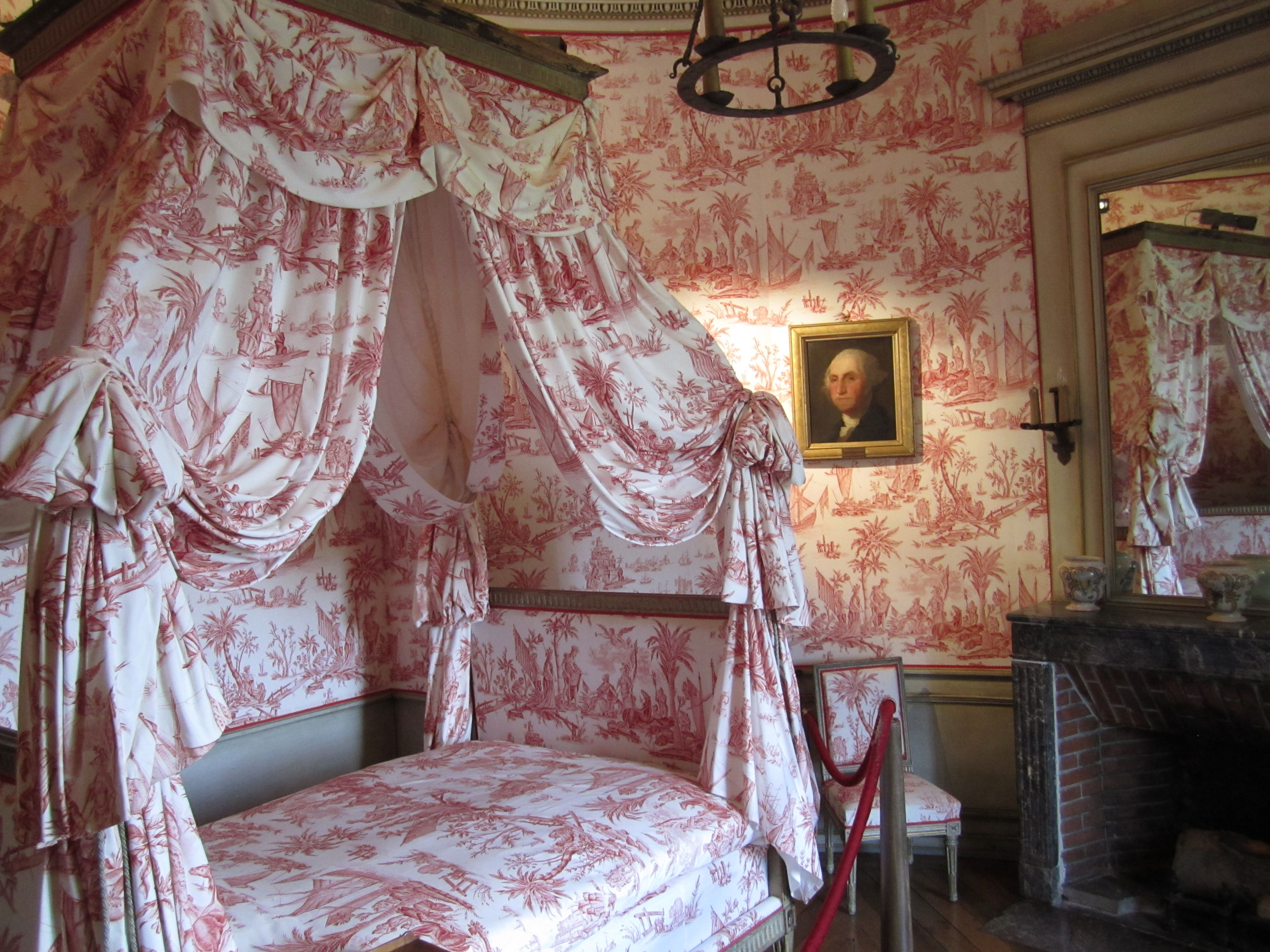 Brown Toile Bedroom Ideas: French Interiors French Style In 2019