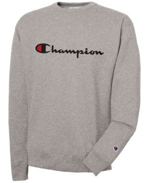 95c6a8103863 CHAMPION MEN S POWERBLEND SCRIPT LOGO SWEATSHIRT.  champion  cloth ...