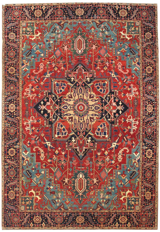 Serapi Design rug - Hand knotting in Turkey 10 x 13.5