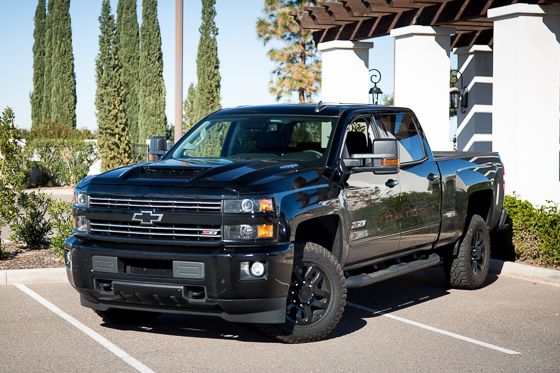 2017 Chevrolet Silverado 2500 Ltz Midnight Edition Photo Gallery