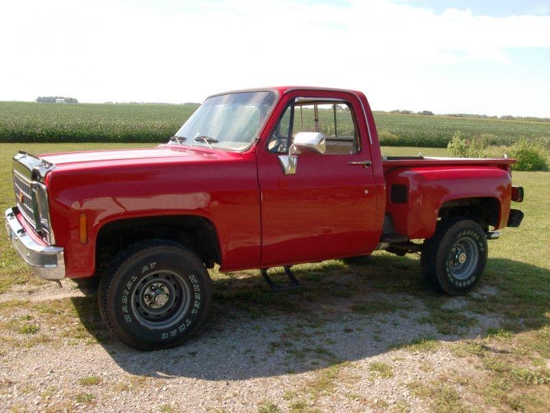 Used 1980 Chevrolet K10 4x4 Shortbed Stepside Chevy Trucks Gm Trucks 87 Chevy Truck