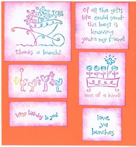 Love Ya Bunches Index by galleryindex - Cards and Paper Crafts at Splitcoaststampers