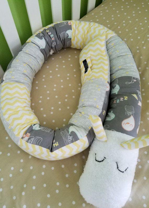 Gender Neutral Crib Bedding Grey And Yellow Nursery