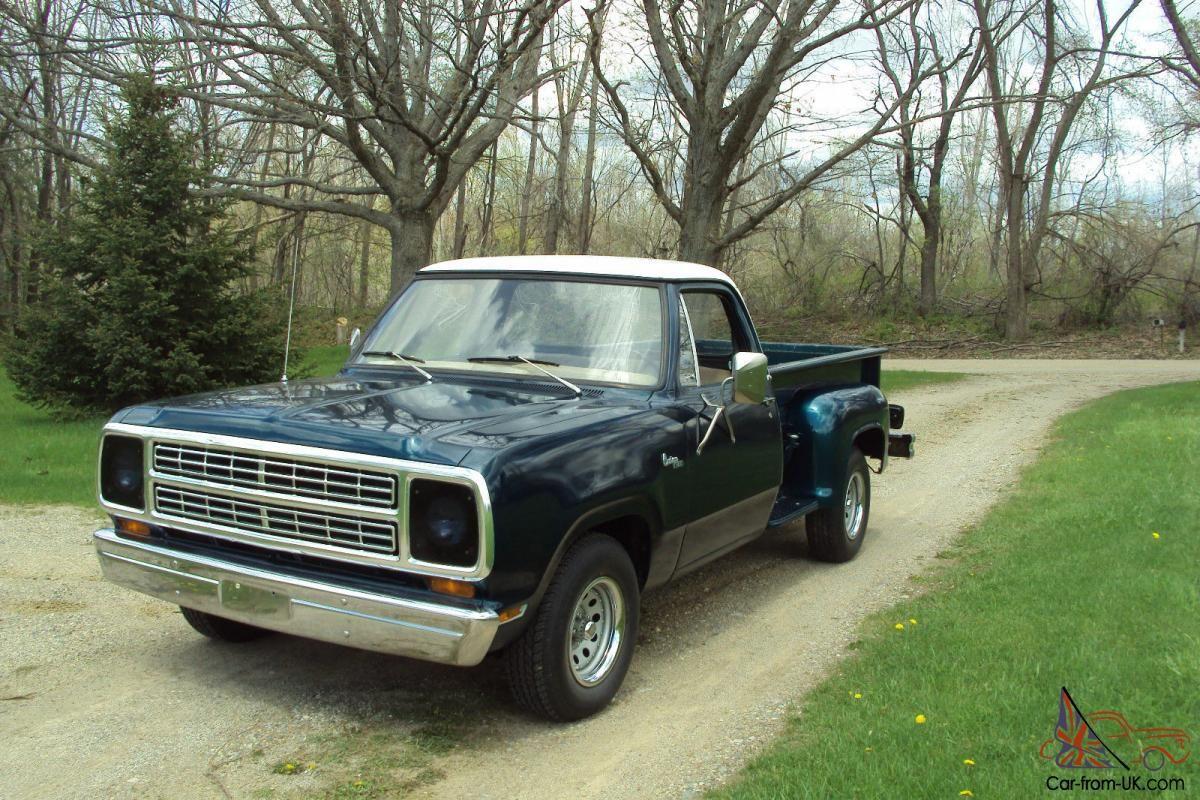 1980 dodge stepside trucks for sale Car Pictures Dodge